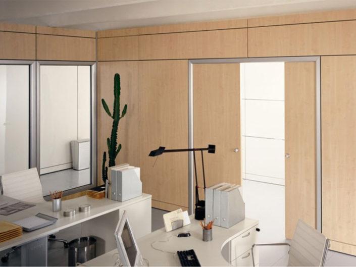 Double - Pareti divisorie modulari per uffici